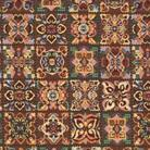 Гобелен цветочная мозаика