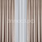 """Портьера """"Велюр"""" цвет - бежевый"""