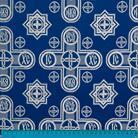 Вифлеем синий/серебро