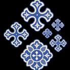 Крест вышивка вид 8