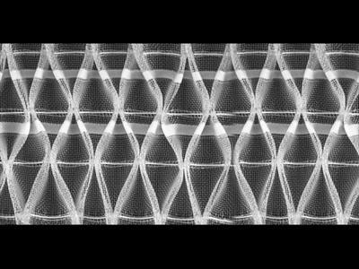 шторная лента арт.2898М, 100 мм