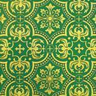 Василия зеленый/золото