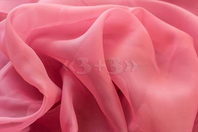 Вуаль розово-пудровая