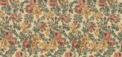 Гобелен цветочная композиция беж